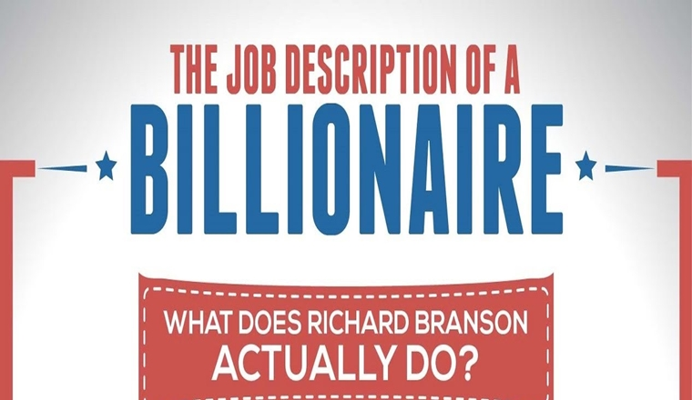 The Job Description of Sir Richard Branson #infographic