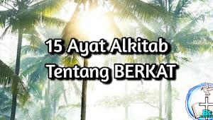 15 Ayat Akitab tentang Berkat keberhasilan dari Tuhan