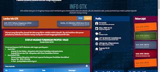 Beranda Info GTK