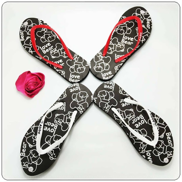 grosirsandalmurah.org - sandal Wanita - Love Bear Spon Cewek
