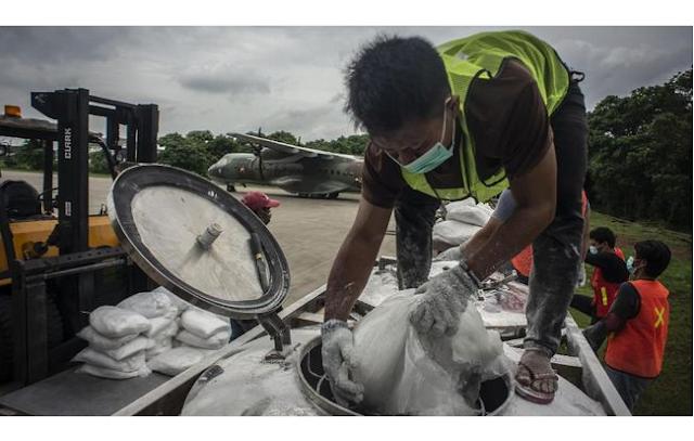 BPPT Secara Intensif Modifikasi Cuaca Cegah Hujan Lebat di Jakarta