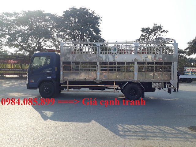 Hyundai EX8 thùng chở gia súc 2 tầng