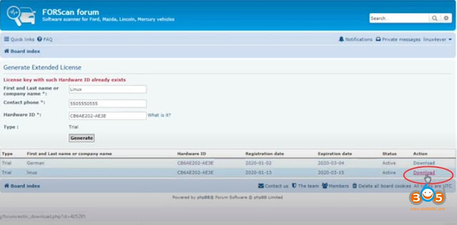 download-install-forscan-licenza-8