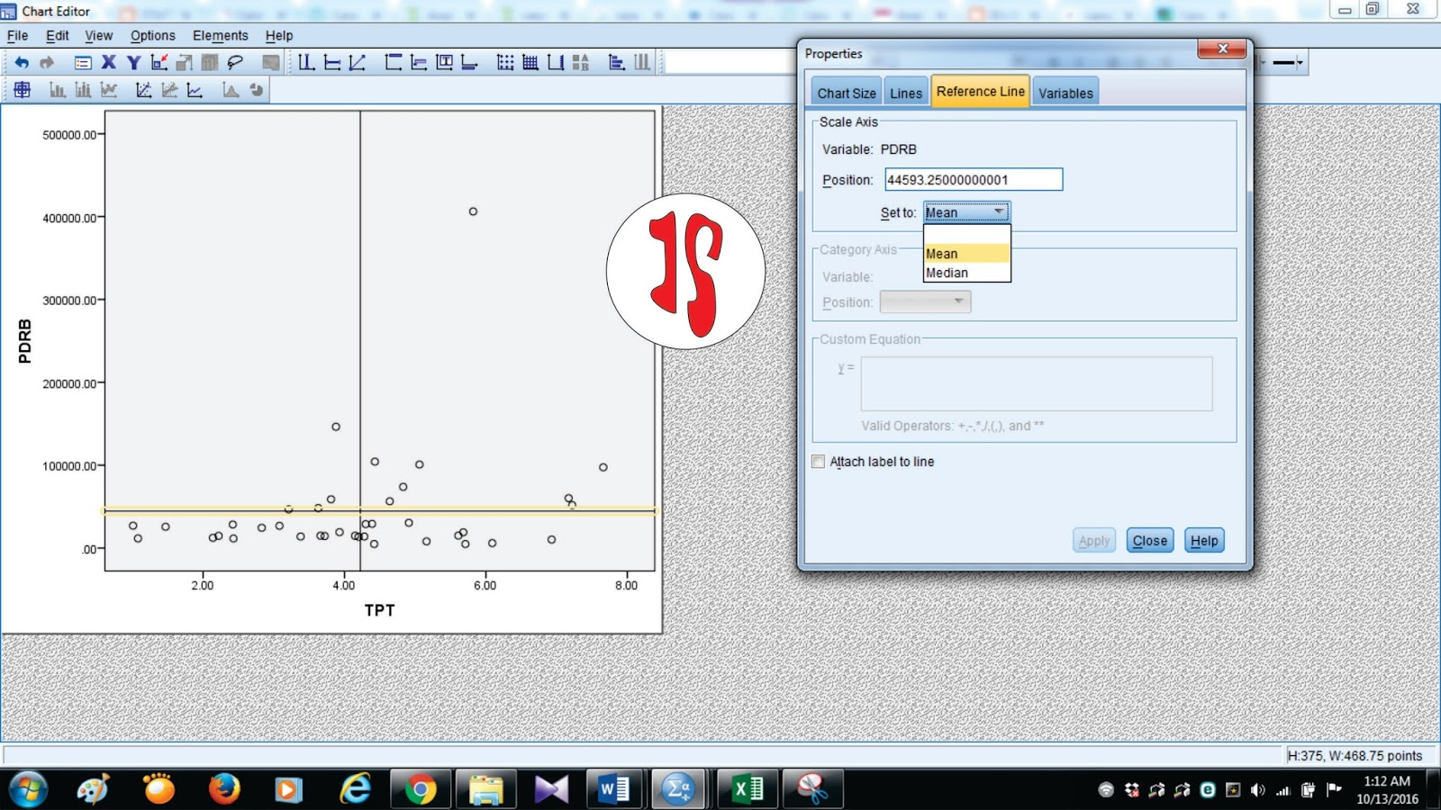 Iimportance performance analysis dengan spss jendela statistika proses cukup sampai disini sekarang tahap finishing yaitu dengan memberikan setiap titik label sehingga memudahkan ketika menganalisis ccuart Choice Image