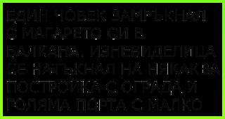[ВИЦ] Един човек замръкнал в балкана