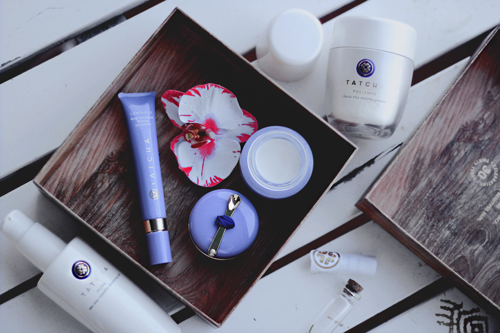 Tatcha skincare of a geisha aimerose beauty blogger review
