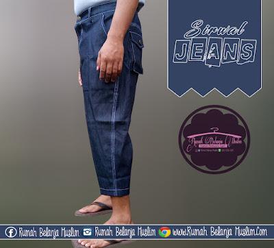 Celana Sirwal Jeans