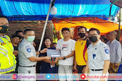 Perwakilan PT Jasa Raharja Parepare Santuni Korban Pesawat Sriwijaya Air 182 di Kabupaten Pinrang