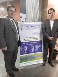 CODIVAR participa do lançamento da Frente Parlamentar em Apoio aos Consórcios e Associações Intermunicipais