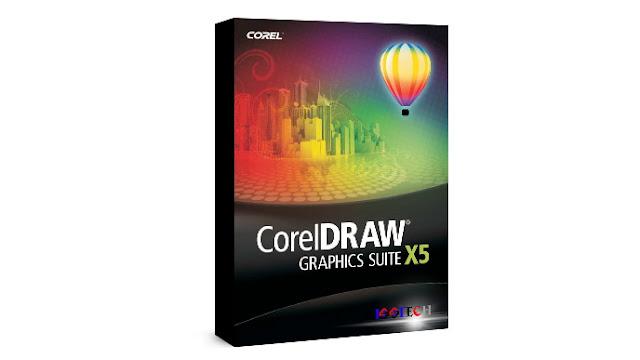 تحميل برنامج كوريل درو CorelDRAW X5 كامل مع التفعيل