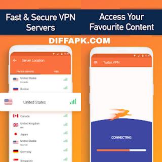 Turbo VPN – Unlimited Free VPN Apk v3.3.2 [VIP]