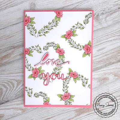 Rachel Vass Designs - Floral Heart