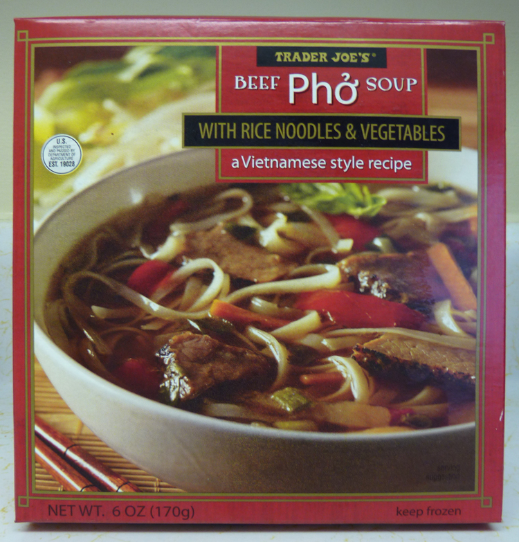 What's Good at Trader Joe's?: Trader Joe's Beef Pho Soup