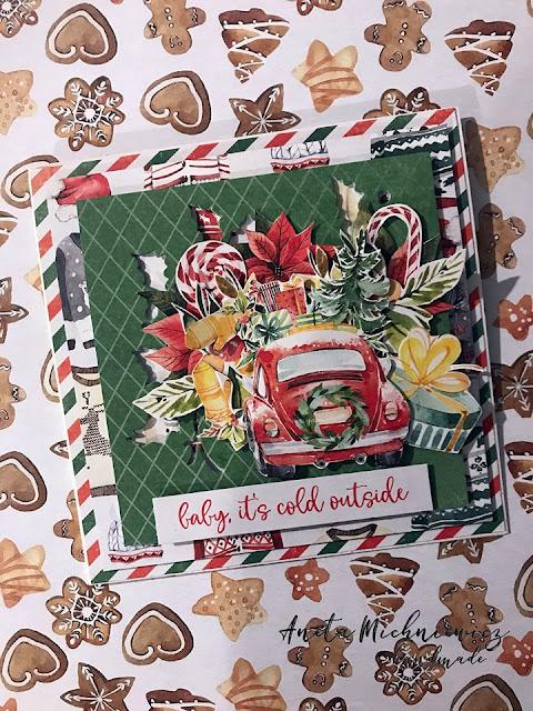 papier do scrapbookingu Christmas treats