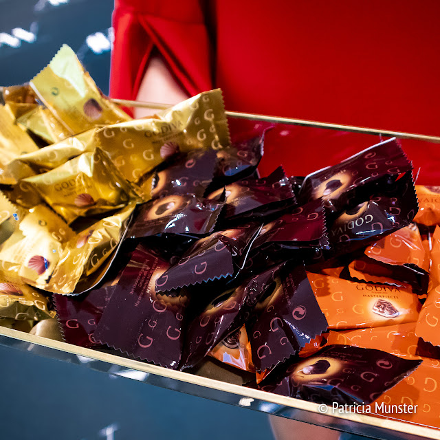 Godiva chocolats at Amsterdam Fashion Week