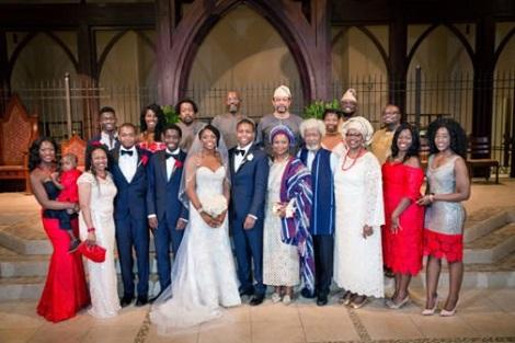 1 Wole Soyinka's Son Weds In Atlanta - See Photos News