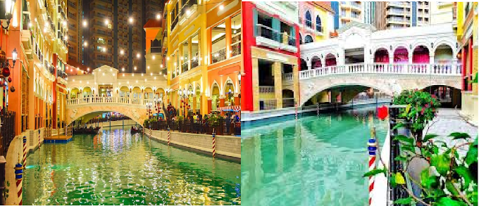 Venice in the Philippines? Venice Grand Canal Mall