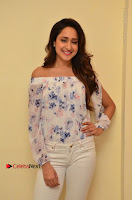 Actress Pragya Jaiswal Latest Pos in White Denim Jeans at Nakshatram Movie Teaser Launch  0011.JPG