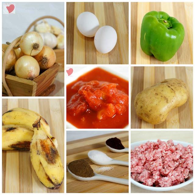 PINOY FOOD RECIPE ARROZ ALA CUBANA INGREDIENTS