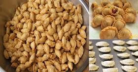 วิธีทำขนมไทยโบราณ ปั้นสิบหรือปั้นขลิบ ไส้อร่อย กรอบนานข้ามวัน