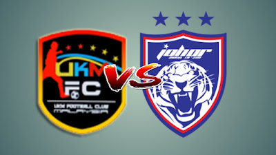 Live Streaming UKM FC vs JDT II Liga Premier 12.7.2019