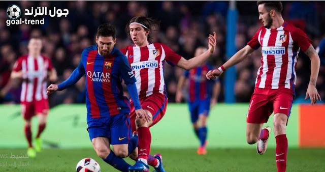 موعد مباراة برشلونة واتلتيكو مدريد في الدوري الاسباني