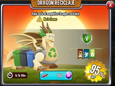imagen de la oferta de la oferta del dragon reciclaje