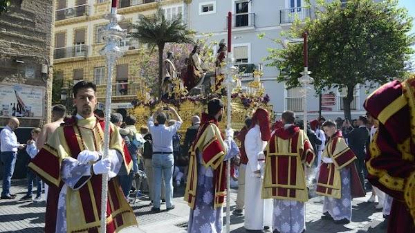 Horarios definitivos de la Semana Santa de Cádiz 2020