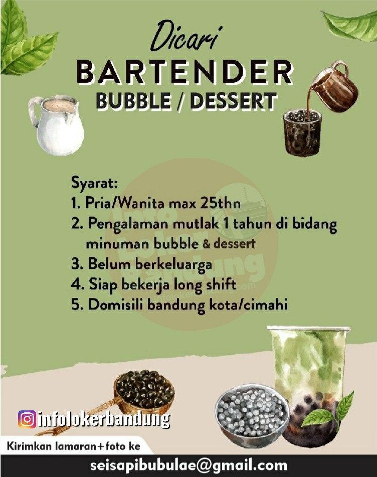 Lowongan Kerja Bandung Bubble Dessert Bandung Januari 2020