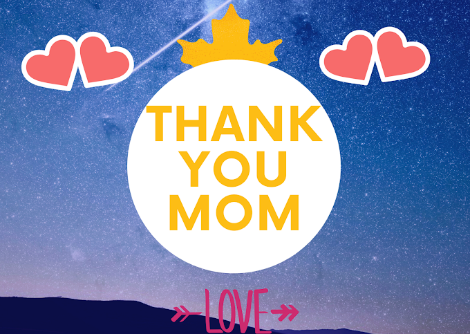 Thank you card to Mother {NEW}