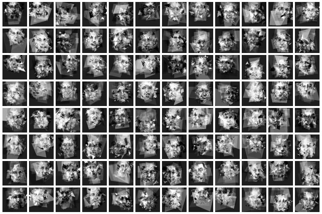 Gurney Journey: Generating Random Faces