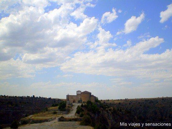 Parque Natural de las Hoces del Río Duratón, Ermita de San Frutos, Sepúlveda