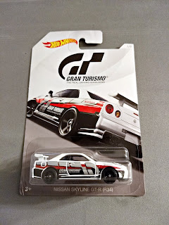 Hot Wheels Gran Turismo nissan skyline GT-R r34