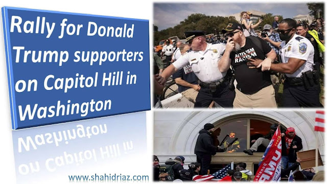 Rally for Donald Trump supporters on Capitol Hill in Washington