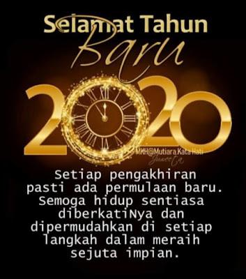 Selamat Tahun Baru 2020, Apa Azam Baru Anda?