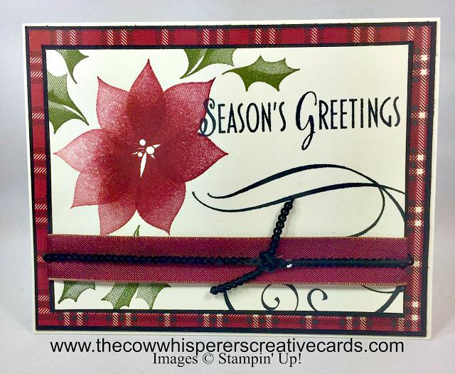 Card, Stylish Christmas, Seasons Greetings, Festive Farmehouse