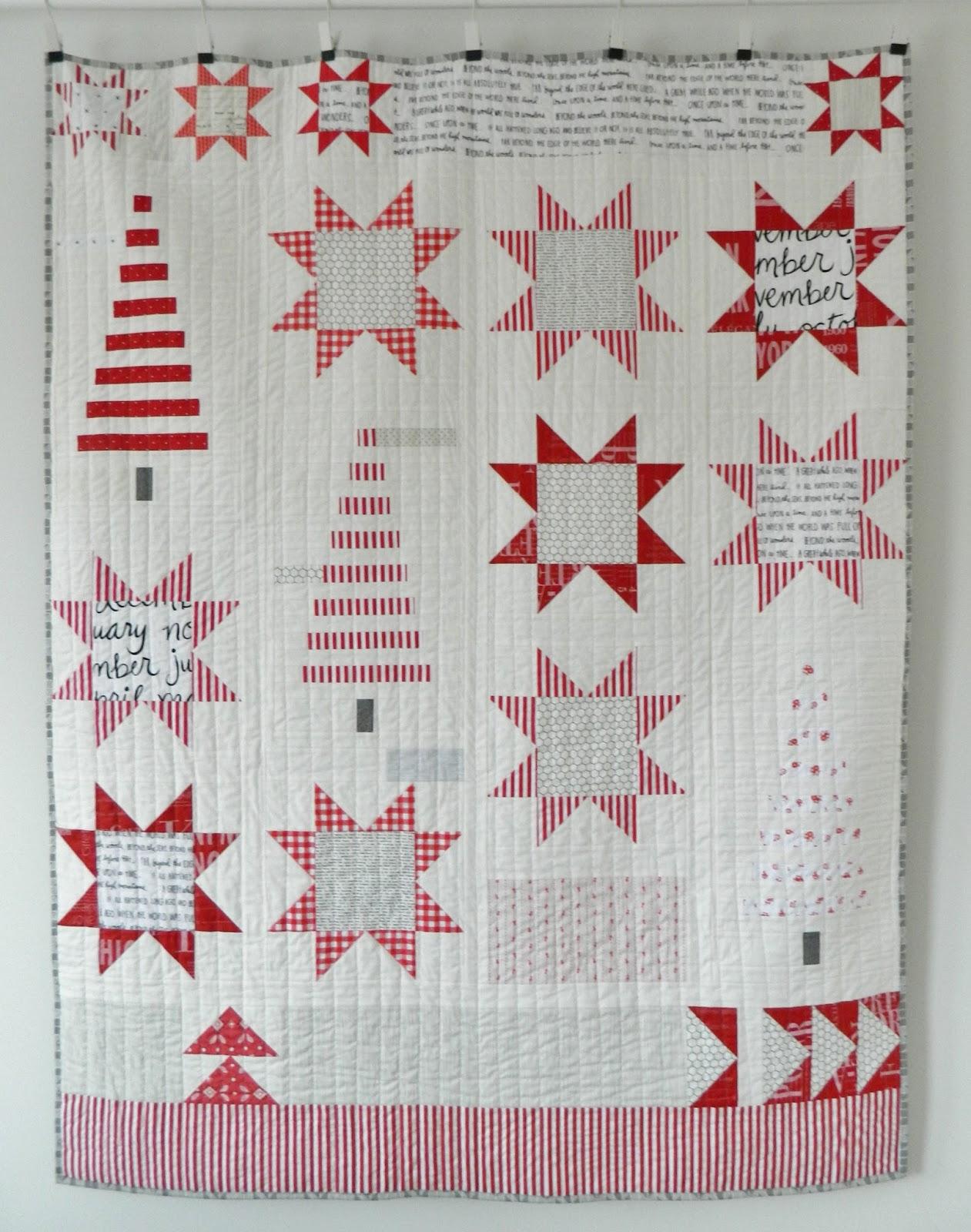 Christmas Quilt.S O T A K Handmade My Christmas Quilt