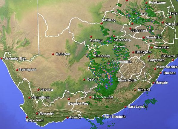 HD Decor Images » S A  Weather and Disaster Information Service  South Africa  SA     15h23 SAST