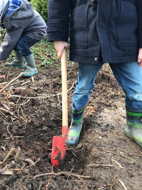 Wochenende in Bildern: Gartenarbeit