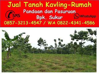 Tanah Kavling Nampes Pandaan 0822-4341-4586 (WA)