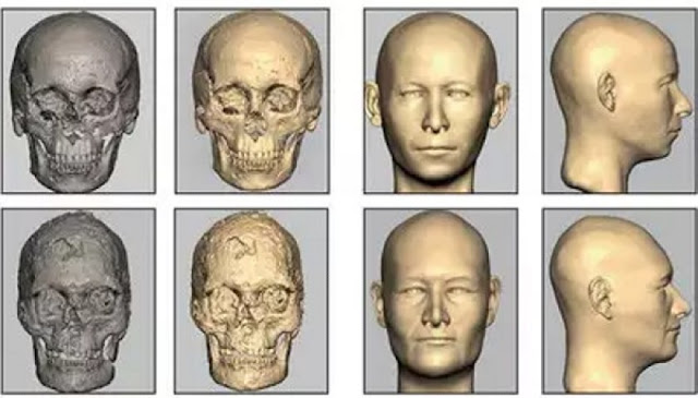 Faces of Indus Valley people reconstructed