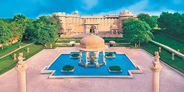 Take a break from home, soak in the luxury of Rajasthan