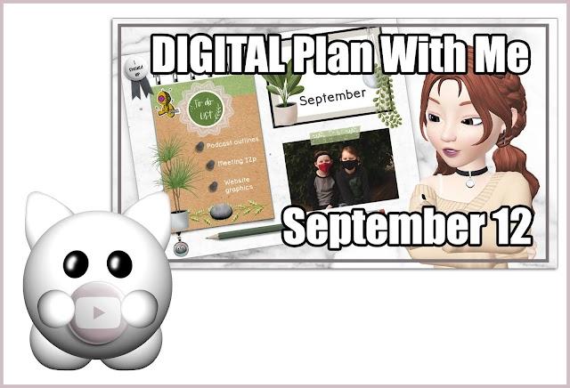 Digital Plan With Me