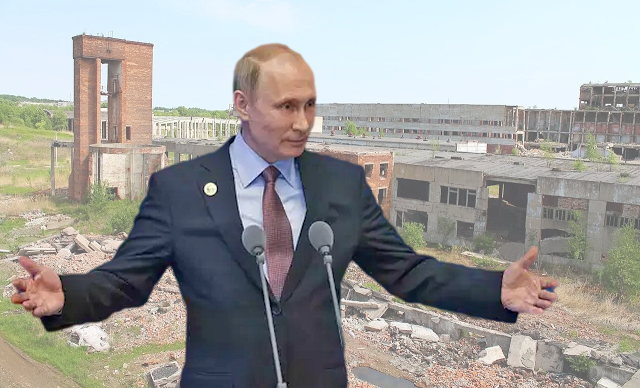 В России тысячи заброшенных заводов – В. Путин признал факт, но ничего предпринимать не собирается