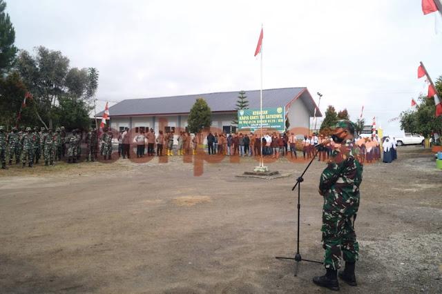 Memperingati Hari Juang TNI AD Kodim 0119/BM Gelar Karya Bhakti Di Seni Antara