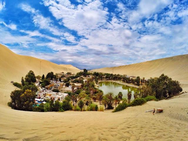 هواكاشينا الصحراء الساحرة البيرو