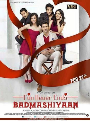 Badmashiyaan (2015) Hindi Full Movie