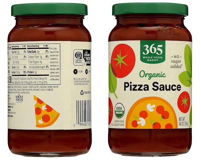 3-365 Everyday Value Organic Pizza