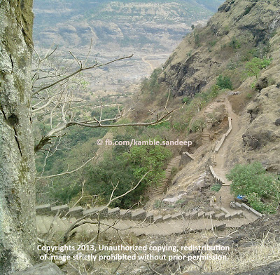 Steps Begin Towards Raigad Fort