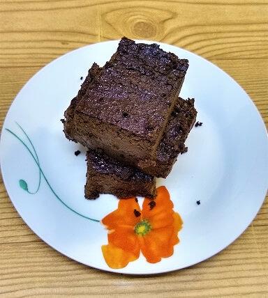 Flourless and Sugar-Free Brownies (Nut-Free, Paleo, Gluten-Free, Keto, LCHF, Sugar-Free, Vegan) 2.jpg